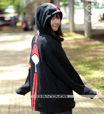 Naruto Uchiha 3 Stripe Hoodie Sweater Cosplay Jacket