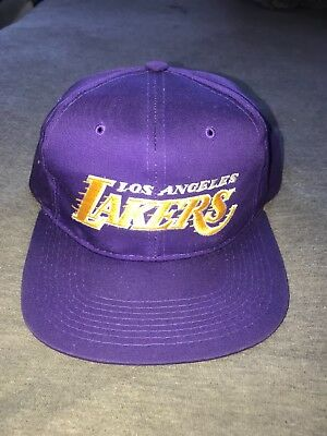 RARE VINTAGE 90S Los Angeles Lakers Starter Snapback. NBA 1df618be7a3