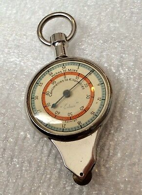 Vintage Cartography Map Reader Opisometer Foreign (German) Mint 40/50s ACE!
