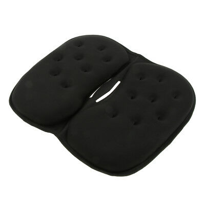 Blesiya Foam Gel Car Seat Cushion Coccyx Back Wheelchair Office Chair Pad