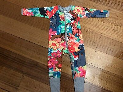 Bonds Disney Jungle Book Zippy Wondersuit Size 1 Brand New With Tags