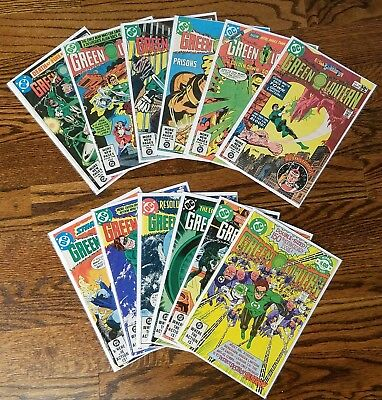 Green Lantern #131-140 & #142-155, 24 comic lot (DC, 80-82) Avg. VF 8.0