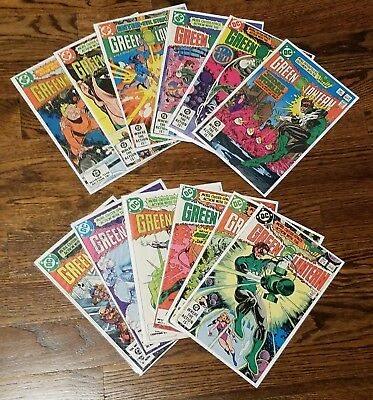 Green Lantern #156-160 & #162-180, 24 comic lot (DC, 82-84) Avg. VF+ 8.5