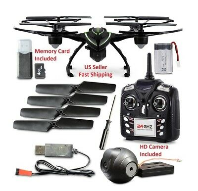 Aduro Stealth Blazer 2.4 GHz Aerial Quadcopter Drone with HD Camera