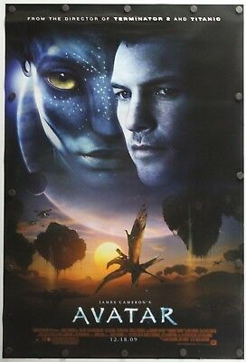 "Avatar 2009 Double Sided Original Movie Poster 27"" x 40"""