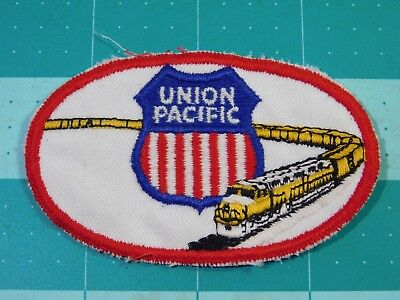 Union Pacific Patch In Elliptical Field Patch (10371)
