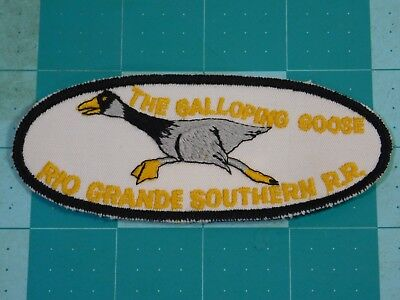 The Galloping Goose Rio Grande Southern RR Patch Elliptical Field (10343)