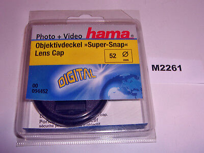 Hama 52Mm 52 Mm Snap-On - Centre Pinch Cap - Mint
