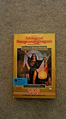 AD&D Gateway to the Savage Frontier for PC with all manuals and pamphlets