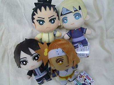 BORUTO NARUTO NEXT GENERATIONS Plush All 4 Set Doll Stuffed Toy Anime JAPAN 2018