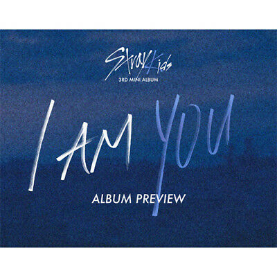 Stray Kids - Mini 3th  I am YOU K-pop CD poster,photo card