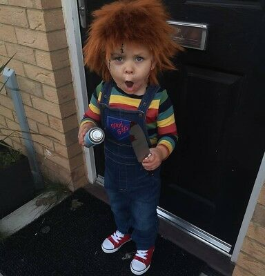 Toddler Chucky Costume Age 2-3