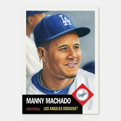 In hand...ready to ship!! 2018 Topps Living Set #88 MANNY MACHADO DODGERS