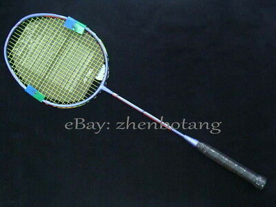 Hot DUORA 10 badminton racket Carbon DUO10 blue Badminton Racket 1pcs
