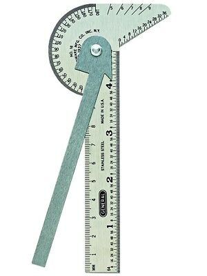 Ruler Gage Drill Point Gauge Bevel Protractor Circle Center Finder Layout Tools