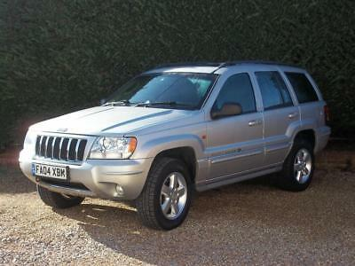 2004 Jeep Grand Cherokee 2.7 CRD Overland 4x4 5dr