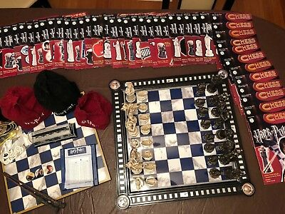Harry Potter Collectable Chess Set (RARE)