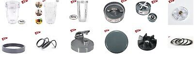 Replacement Spare Parts,Fits,Gasket,Blades,Gear,Cups,Lid for Nutribulle 600/900W