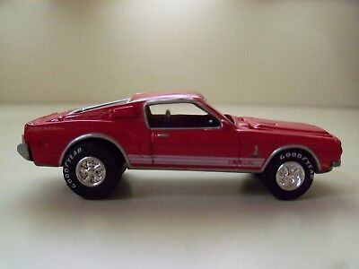 Johnny Lightning - Mustang Illustrated - 1968 Ford Mustang Shelby Gt-350 - Loose