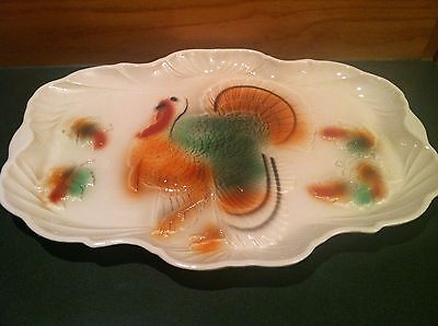 Vintage Large Turkey Platter Lane & Co, Van Nuys California Pottery
