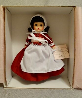 "Madame Alexander 2010 PILGRIM GIRL THANKSGIVING 8"" Doll - NRFB LE & MINT"