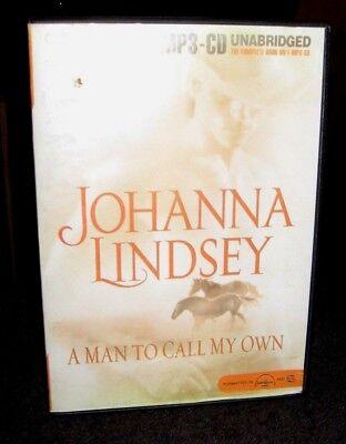 A Man To Call My Own by Johanna Lindsey / Merlington MP3-CD Unabridged Audiobook