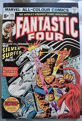 Fantastic Four. *8* Bronze Age Issues. #155, 156, 157, 158, 159, 160, 161, 162