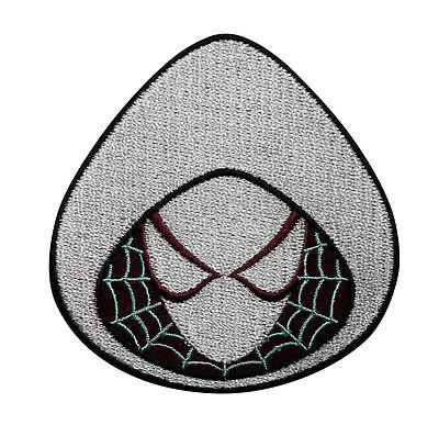 Amazing Spiderman Spider Gwen Embroidered Iron On Patch - Marvel Comics 129-G