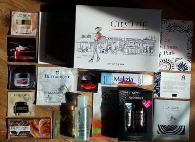 "City Trip Kosmetik ""My Little Box"" Beauty Set Weihnachten Proben"
