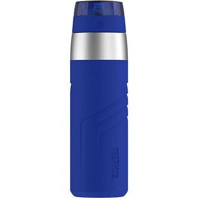 Thermos Element5 Insulated Stainless Steel Direct Travel Drink Bottle 20oz Blue