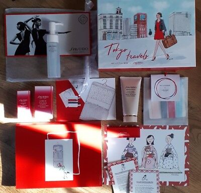 "Shiseido Kosmetik ""My Little Box"" Beauty Set plus Geschenk Weihnachten"