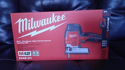 Milwaukee M12 Corldess Jig Saw(2445-21)