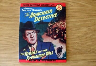 SUPER DETECTIVE LIBRARY No2 Facsmile comic