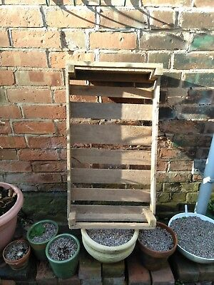 Vintage Wooden Apple Potato Crate
