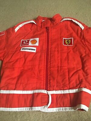 Ferrari F1 Red Child Size Small Jacket Coat - Grand Prix Formula One