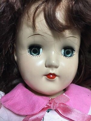 "Vintage 14"" Ideal P-90 Toni - 1950's With Original Wig"