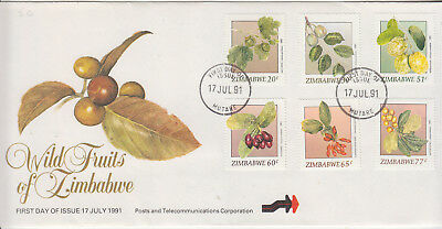 Zimbabwe FDC 1991 World Fruits