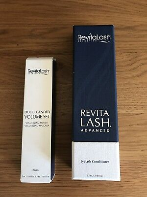 Genuine revitalash advanced eyelash conditioner 3.5ml And Mascara