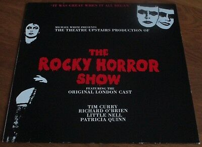 The Rocky Horror Show  : Original London Cast / Tim Curry, Richard O'Brien - LP