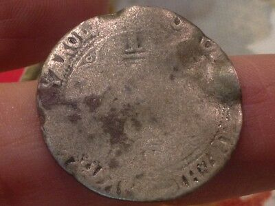 Spain Medieval Real Coin-Metal Detector find King Charles I?  early 1500's >5