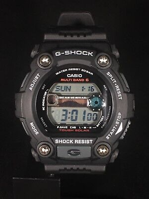 36bbac67ff5f Men s GW7900B-1 Casio G-Shock Black Solar Sport Watch Multiband 6 World Time