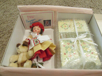 "Madame Alexander Old Mother Hubbard Set,  8"" Doll, #39850"