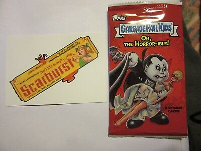 GARBAGE PAIL KIDS, Oh, The Horror-ible, 2018, Topps Trick or Treat Chase Card #8