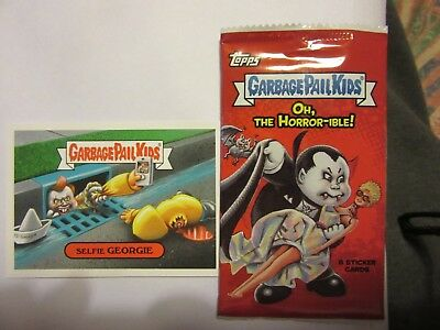GARBAGE PAIL KIDS, Oh, The Horror-ible, Pennywise, IT, Stephen King, Halloween