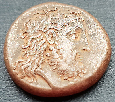 Extremely Rare Greek Silver Coin Stater  9.56 g. Zeus