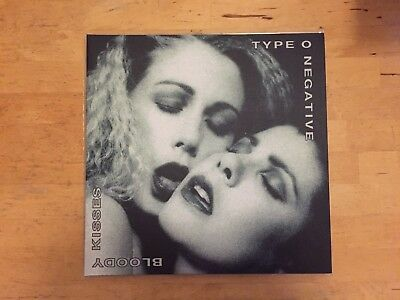 Type O Negative ‎- Bloody Kisses, 2x 180gram Vinyl, Gatefold Cover