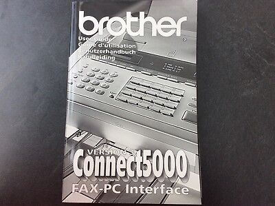 Benutzerhandbuch Brother Connect 5000  Version 3 FAX-PC Interface