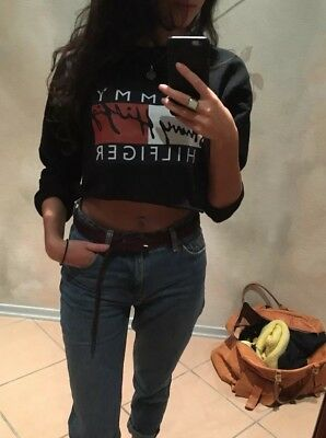 Printshirt TH Jeans Wear Crop Top Neu Hm Zara