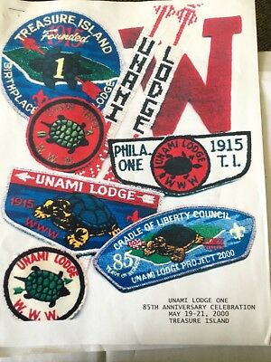 Unami Lodge 2000 85th Anniversary OA Program Book SALE!!!