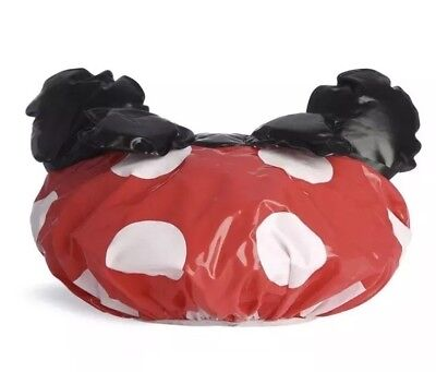 BNIB DISNEY Minnie Mouse Shower Cap - Polka Dot - Primark